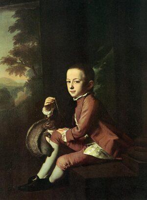 Daniel Crommelin Verplanck by John Singleton Copley, 1771. Metropolitan Museum of Art.